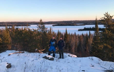 book your guided winter camping trip today in the Boundary Waters