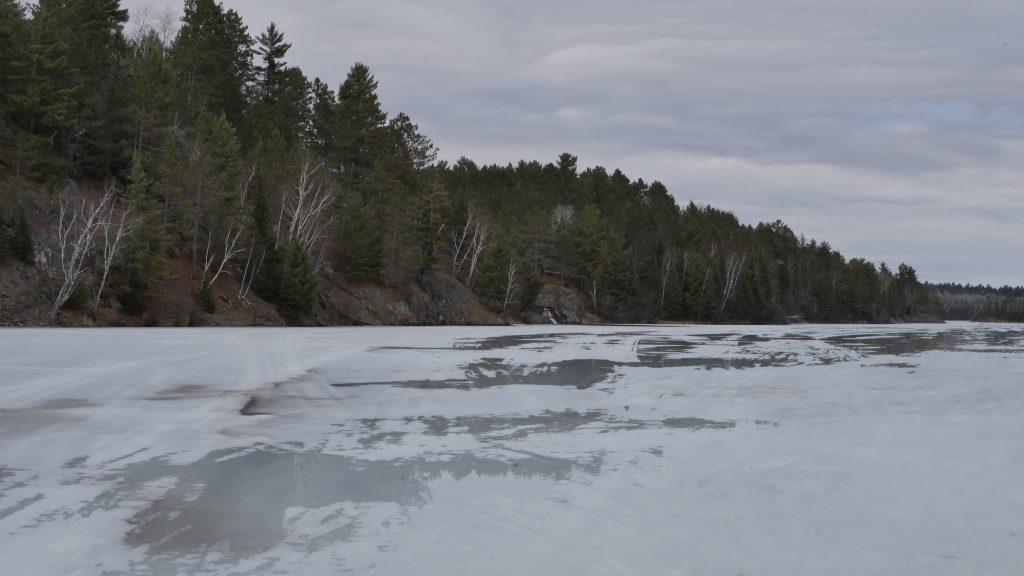 bass lake falls