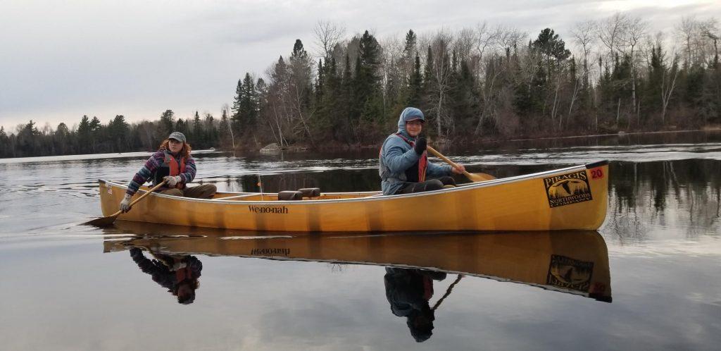 spring paddling happy days
