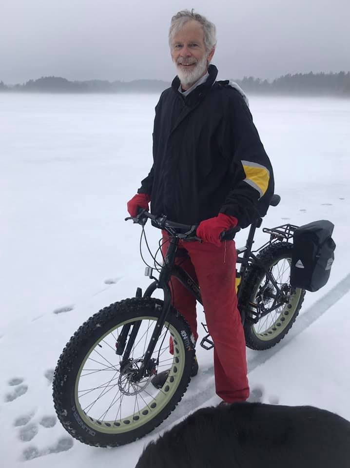 bikes on the ice