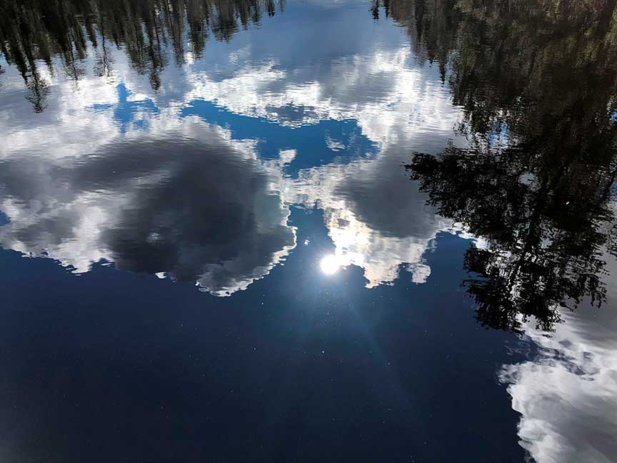 reflective paddling