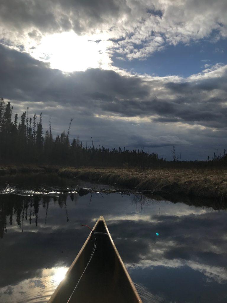 monday funday piragis paddle solo